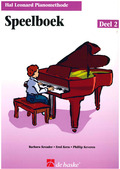 PIANOMETHODE SPEELBOEK #2 - HAL LEONARD - 9789043104746
