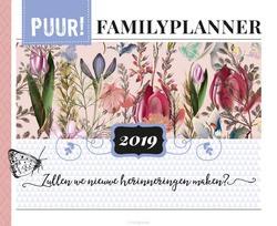 PUUR! Familyplanner / 2019 - Redactie - 9789043529495