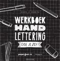WERKBOEK HANDLETTERING DOE JE ZO! - LUTTENBERG, KARIN - 9789048837700