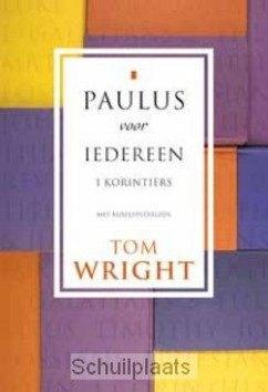 PAULUS VOOR IEDEREEN 1 KORINTIERS - WRIGHT, TOM - 9789051943184