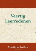 VEERTIG LEERREDENEN - LUTHER, MAARTEN - 9789057194986