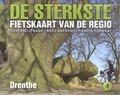 DE STERKSTE FIETSKAART DRENTHE - 9789058817099
