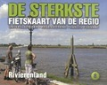 DE STERKSTE FIETSKAART RIVIERENLAND - 9789058817228