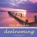 MET OPRECHTE DEELNEMING GESCHENKBOEK - 9789059074088