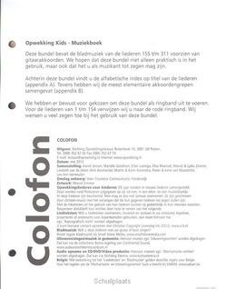 KINDEREN MUZIEK 22 (300-311) AANVULLING - OPWEKKING - 9789059692756