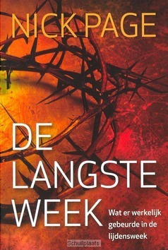 DE LANGSTE WEEK - PAGE, NICK - 9789059990180