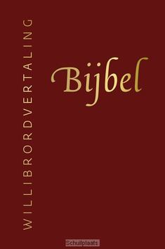 BIJBEL WILLIBRORD LEER, ROOD MET RITS - WILLIBRORDVERTALING - 9789061731887