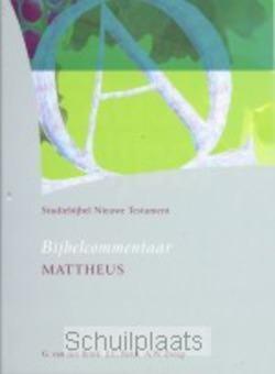 STUDIEBIJBEL NT 2 MATTHEUS - SBNT - 9789062054022