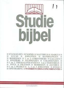 STUDIEBIJBEL NT 11 WOORDSTUDIES 1 - SBNT - 9789062054114