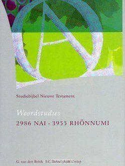 STUDIEBIJBEL NT 14 WOORDSTUDIES 4 - SBNT - 9789062054145