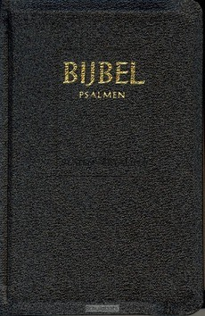 MICROBIJBEL SV PSALMEN ZWART KUNSTLEER - STATENVERTALING - 9789065391124