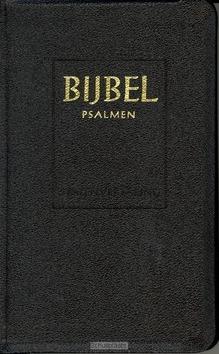 BIJBEL MAJOR SV PSALMEN ZWART BASIC - STATENVERTALING - 9789065391308