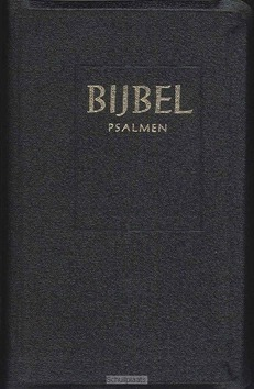 BIJBEL MAJOR SV PSALMEN ZWART INDEX - STATENVERTALING - 9789065391353