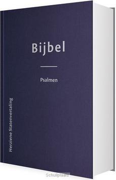 BIJBEL HSV PSALMEN HARDE BAND 8,5X12,5 - HERZIENE STATENVERTALING - 9789065394200