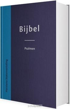 BIJBEL MET PSALMEN BLAUW DUOTONE 12X18CM - HERZIENE STATENVERTALING - 9789065394231