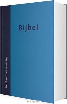 HUISBIJBEL HSV BLAUW VIVELLA INDEX - HERZIENE STATENVERTALING - 9789065394361