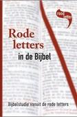 GOD SPREEKT RODE LETTERS IN DE BIJBEL - MUNSTERMAN - 9789065394439