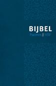 BIJBEL HSV MET PSALMEN VIVELLA BLAUW - HERZIENE STATENVERTALING - 9789065394637