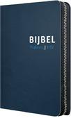 BIJBEL HSV PSALMEN BLAUW LEER RITS - HERZIENE STATENVERTALING - 9789065394651