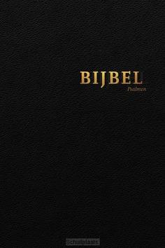 BIJBEL HSV MET PSALMEN ZWART LEER RITS - HERZIENE STATENVERTALING - 9789065394811