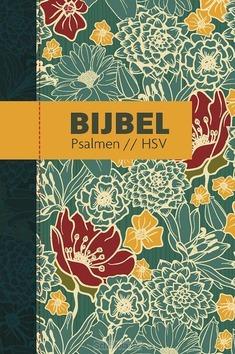 BIJBEL HSV MET PSALMEN HARDCOVER BLOEM - HERZIENE STATENVERTALING - 9789065394828