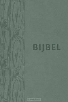 BIJBEL HSV GROEN LEER MET DUIMGREPEN - HERZIENE STATENVERTALING - 9789065394835