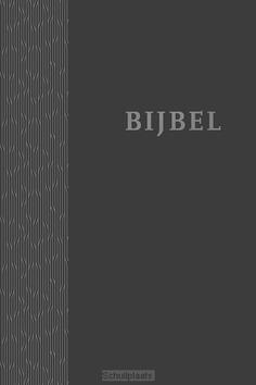 BIJBEL HSV HARDCOVER ANTRACIET - HERZIENE STATENVERTALING - 9789065394842