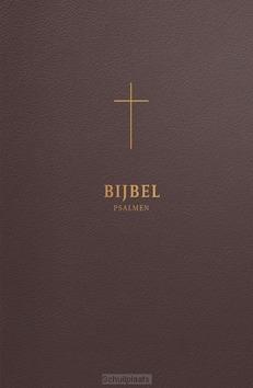 BIJBEL HSV MET PSALMEN BRUIN LEER - HERZIENE STATENVERTALING - 9789065395016