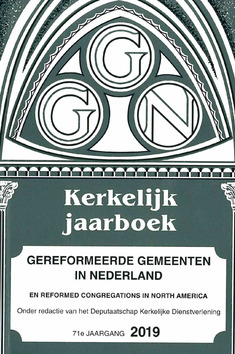 KERKELIJK JAARBOEK 2019 GER GEM IN NED - 9789073400511