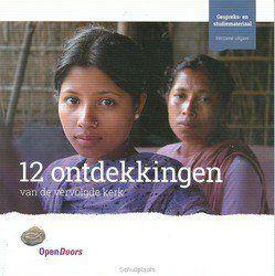 12 ONTDEKKINGEN VAN DE VERVOLGDE KERK - OPEN DOORS - 9789080272866