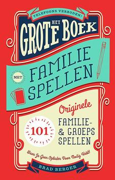 GROTE BOEK MET FAMILIESPELLEN - BERGER, BRAD - 9789082858754