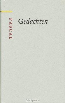 GEDACHTEN - PASCAL, B. - 9789085068310