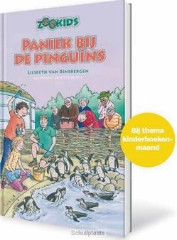 PANIEK BIJ DE PINGUÏNS - BINSBERGEN, LIESBETH VAN - 9789085433095