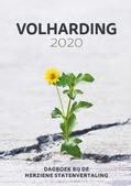 VOLHARDING 2020 DAGBOEK - 9789088972270