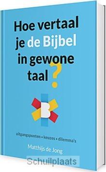 HOE VERTAAL JE DE BIJBEL IN GEWONE TAAL? - JONG, MATTHIJS DE - 9789089120847