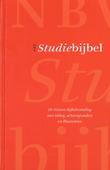 NBV STUDIEBIJBEL - NIEUWE BIJBELVERTALING - 9789089121912