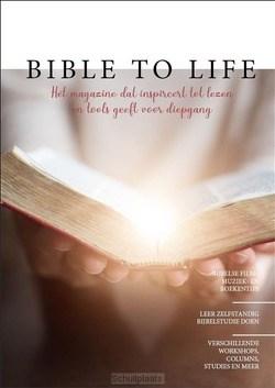 BIBLE TO LIFE MAGAZINE - BIESHEUVEL, JEDIDJA - 9789090342054