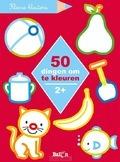 50 DINGEN OM TE KLEUREN 2+ - KLEINE KLEUTERS - 9789403208695