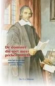 DOMINEE DIE NIET MEER PREKEN MOCHT - MEEUSE, C.J. - 9789461150585
