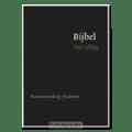 BIJBEL MET UITLEG 14X20 ZWART, LUXE - [BMU] - 9789462782389