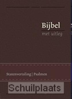 BIJBEL MET UITLEG 17X24 LUXE BRUIN - [BMU] - 9789462782457
