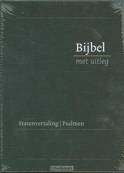 BIJBEL MET UITLEG 14X20 ZWART HARDE BAND - [BMU] - 9789462785823