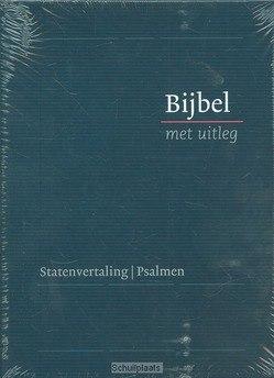 BIJBEL MET UITLEG BLAUW 14X20 HARDE BAND - [BMU] - 9789462785830