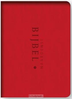NAARDENSE BIJBEL ROOD MET FOEDRAAL - OUSSOREN, PIETER - 9789490708924