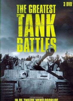 DVD THE GREATEST TANK BATTLES - 9789492189417