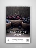 LANDELIJK WEEKPLANNER 2021 - 9789493206038