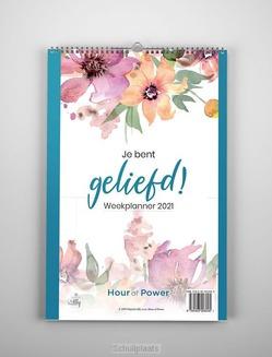 WEEKPLANNER 2021 JE BENT GELIEFD - 9789493206045