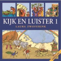 KIJK EN LUISTER CD 1 - ZWOFERINK, LAURA - 9789033180767