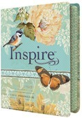 INSPIRE JOURNALING BIBLE LEATHER LIKE - BIBLE NLT - 9781496413734