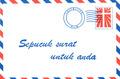 BRIEF VOOR JOU INDONESISCH - EN030